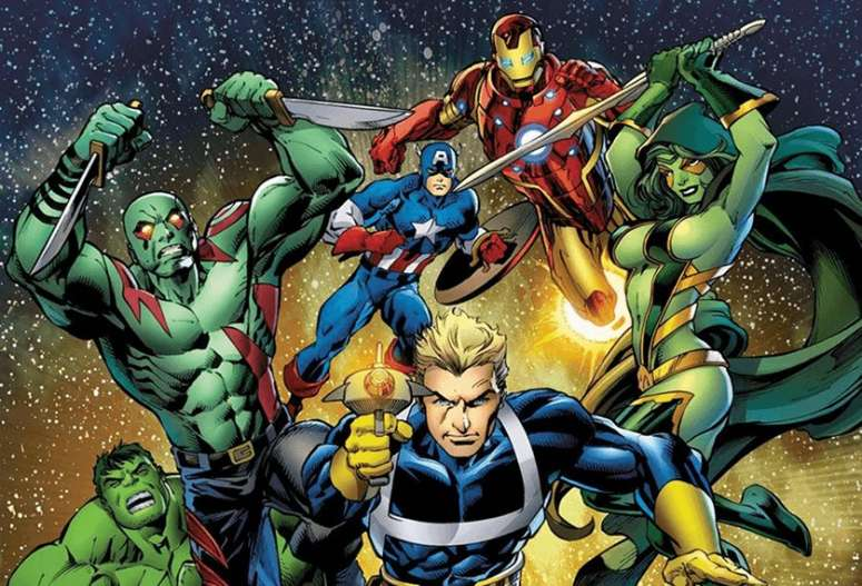 Avengers Guardians Galaxy - www.filmfad.com