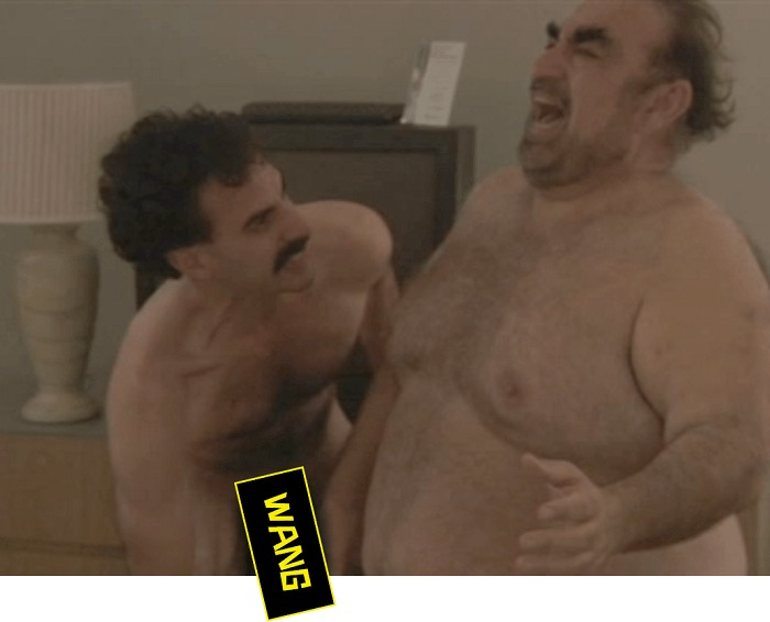 penis movie Borat