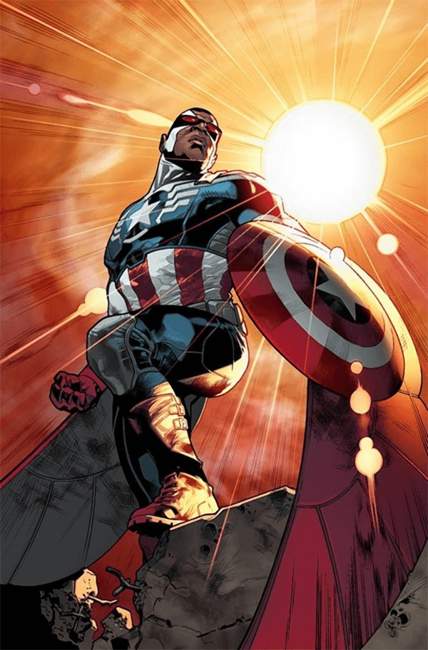 Falcon as Captain America - www.filmfad.com