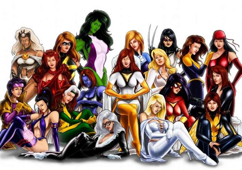 Marvel Women - www.filmfad.com
