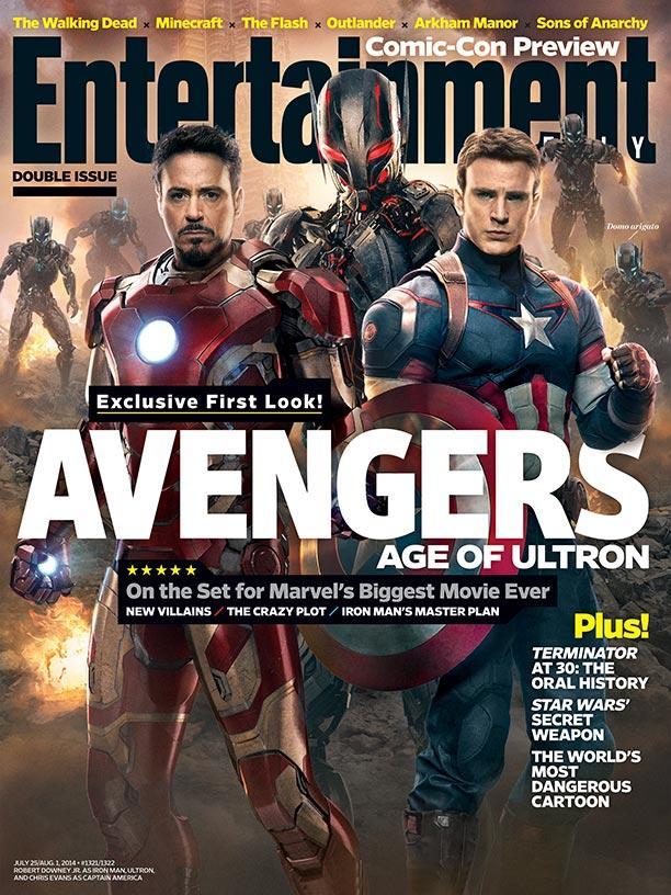 Avengers Age of Ultron EW Cover - www.filmfad.com