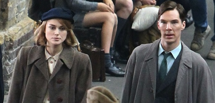 Keira Knightley & Benedict Cumberbatch in Imitation Game - www.filmfad.com