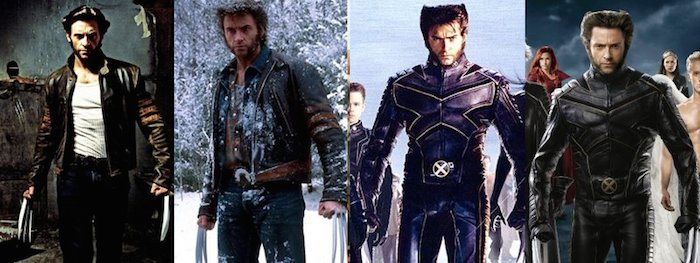 Hugh Jackman as Wolverine through the years - www.filmfad.com