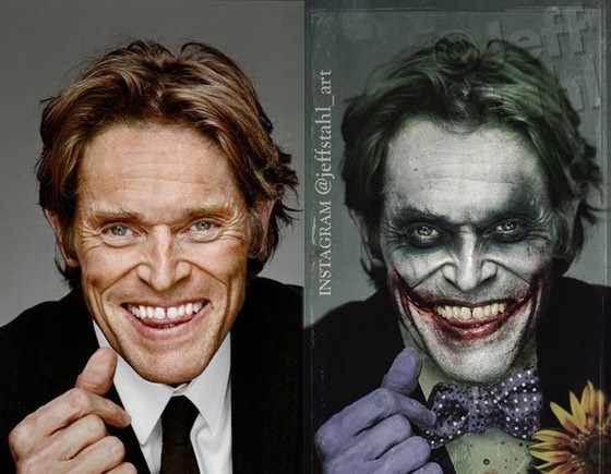 Willem Dafoe The Joker - www.filmfad.com
