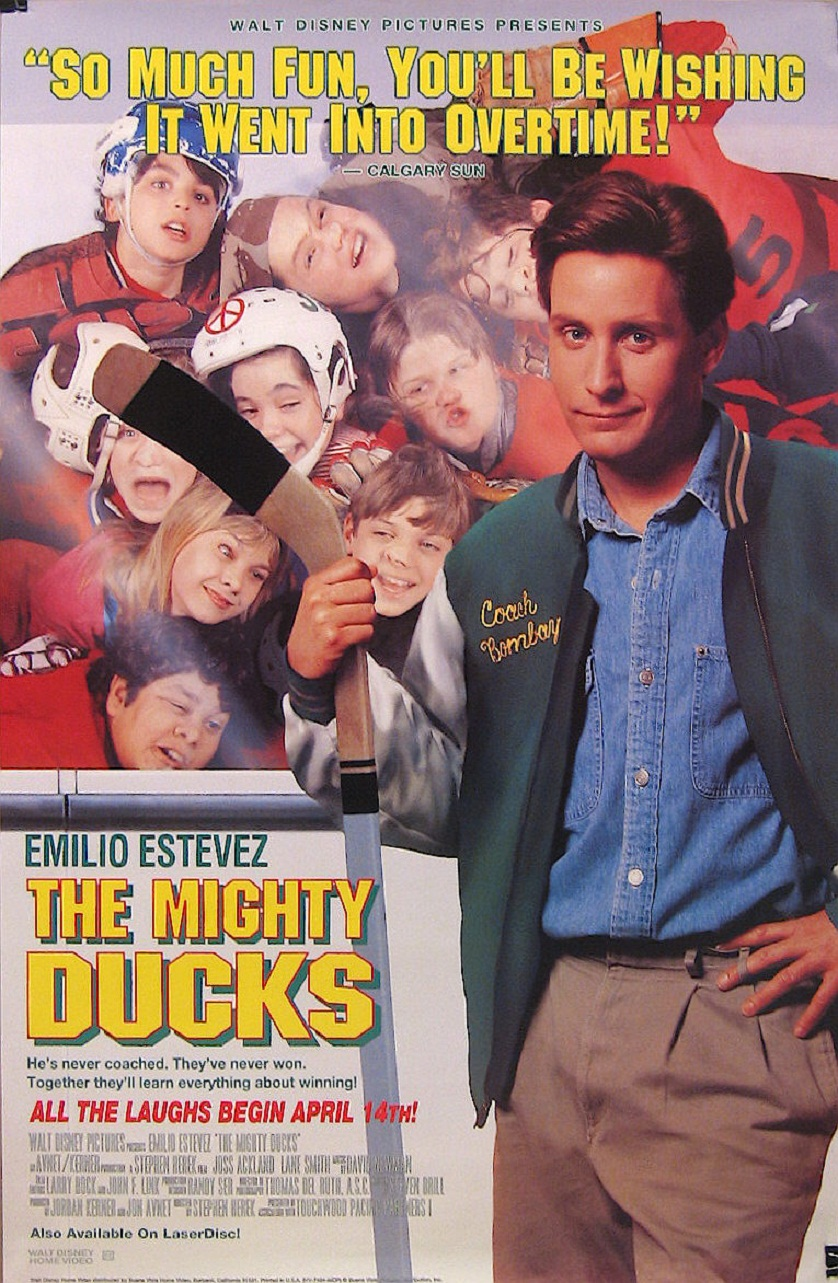 The Mighty Ducks Poster - www.filmfad.com