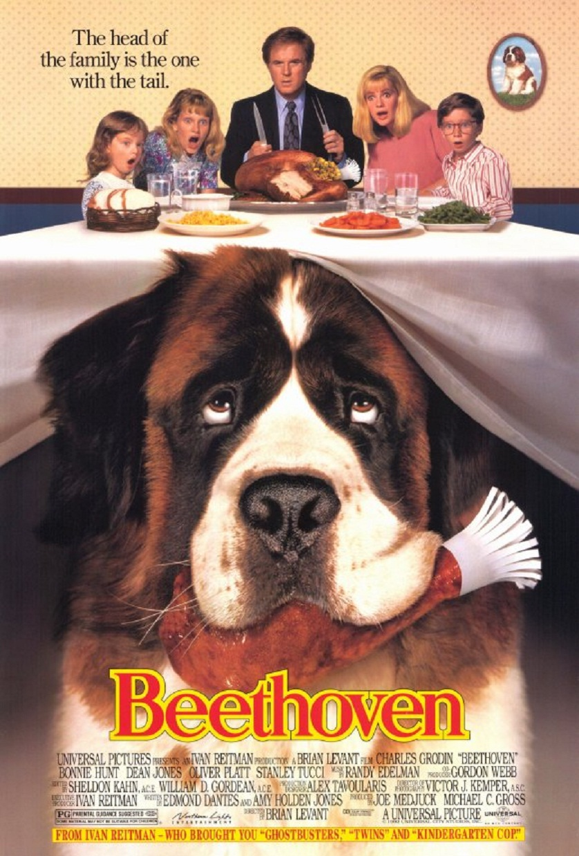 Beethoven Movie Poster - www.filmfad.com