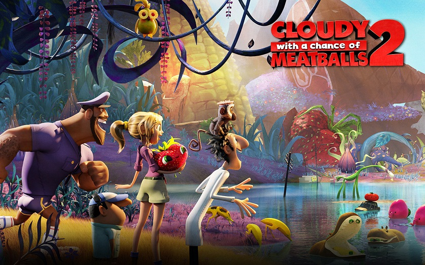 Cloudy with a Chance of Meatballs 2 Poster - www.filmfad.com
