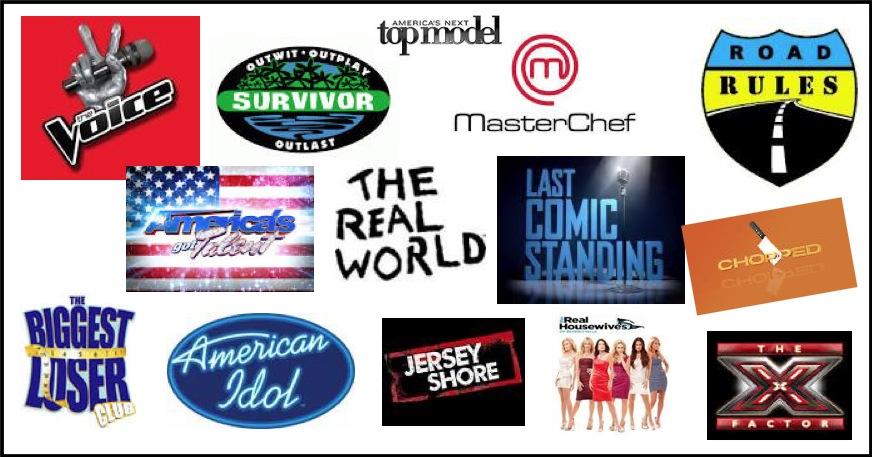 Reality TV Logos - www.filmfad.com