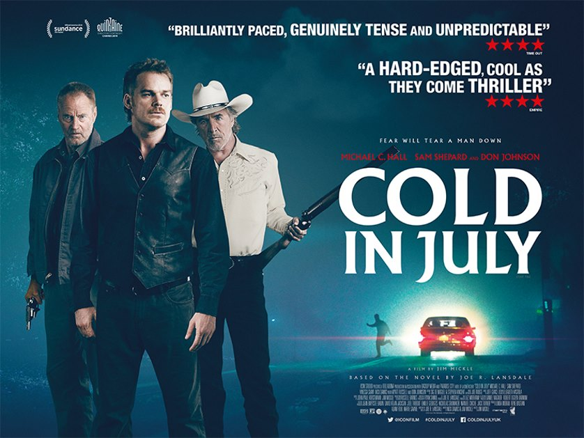 Michael C. Hall joins Don Johnson in trailer for <em>Cold in July</em>