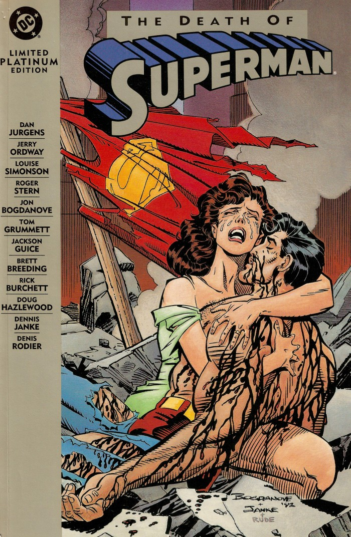 Death of Superman - Dan Jurgens - www.filmfad.com