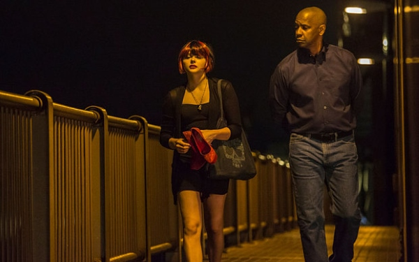 Equalizer Chloe Moretz Denzel Washington