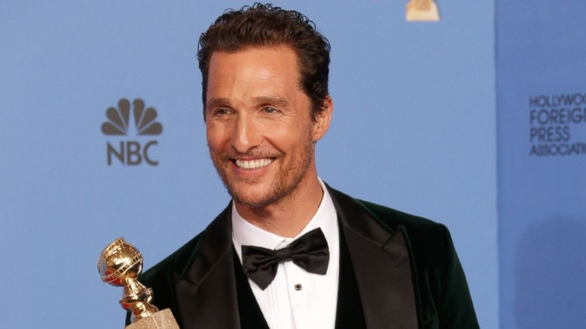 Matthew McConaughey Oscar Win