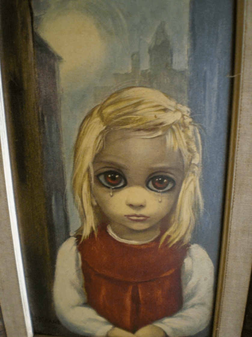 big eyes painting
