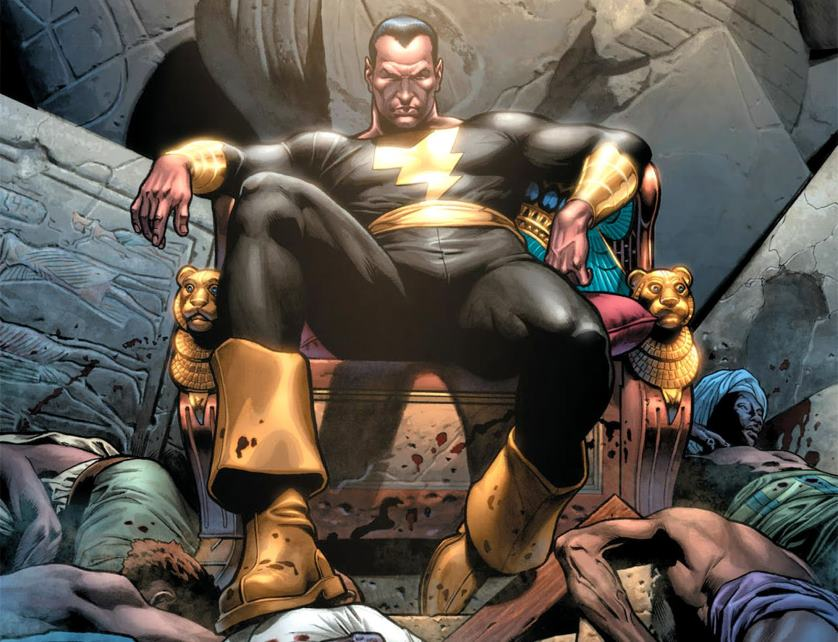 Dwayne Johnson aka <em>The Rock</em> set to play Black Adam