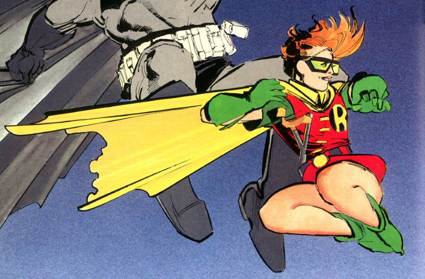 Female Robin Carrie Kelley From TDKR