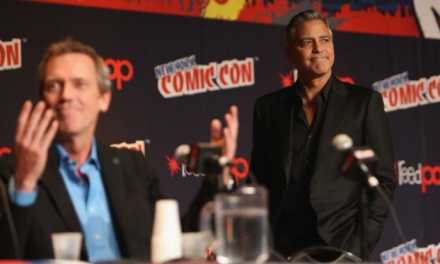 George Clooney at NYCC talks <em>Tomorrowland</em> and bat-nipples