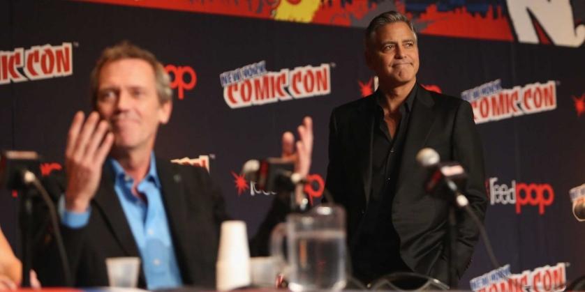 George Clooney Tomorrowland NYCC
