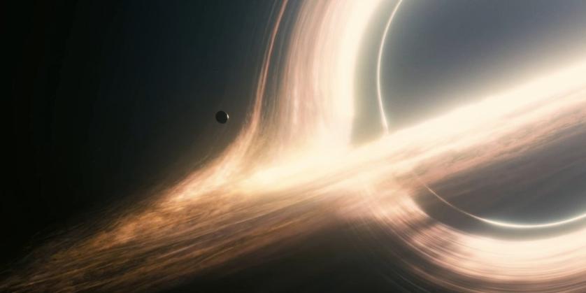 "Interstellar Black Hole ""Rings"""