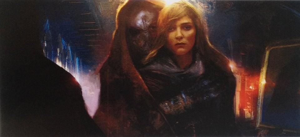 Dark Knight & Daisy Ridley