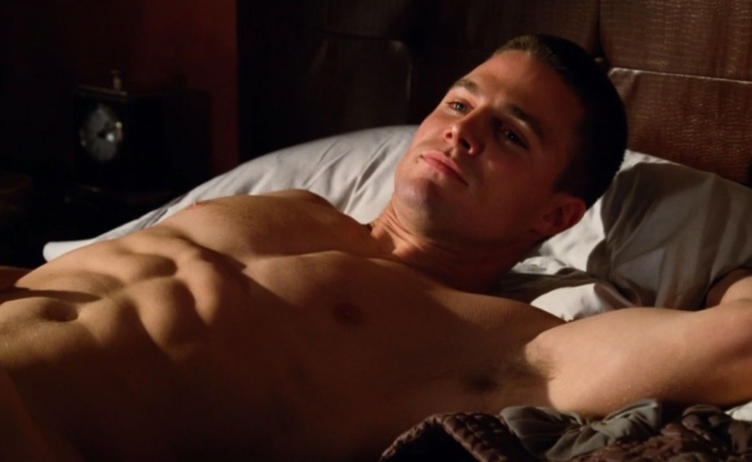 Stephen Amell Shirtless