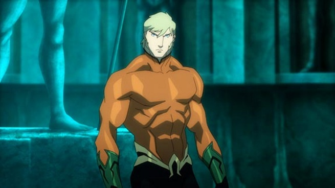 Justice League Thrones of Atlantis Aquaman