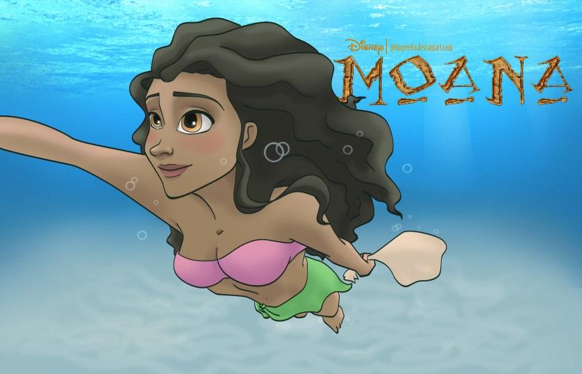 <em>Little Mermaid</em> creators introducing Disney's <em>Moana</em> in 2016