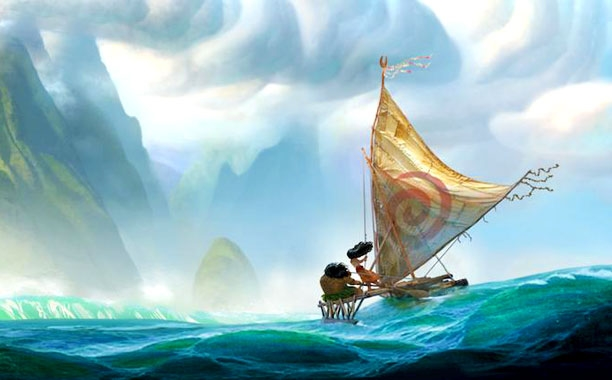 Moana Disney 2016
