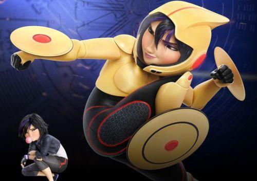 Go Go voiced by Jamie Chung