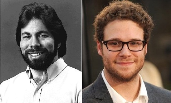 Steve Wozniak and Seth Rogan - www.filmfad.com