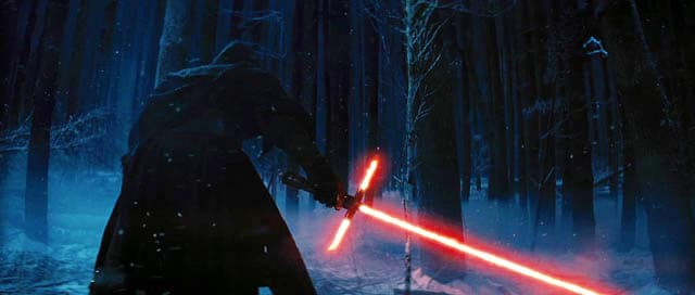 Star Wars Force Awakens Lightsaber