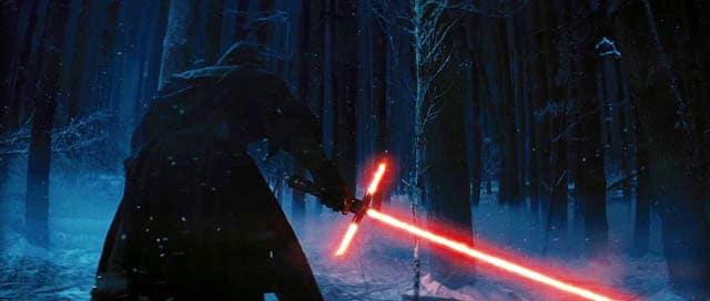 Star Wars Force Awakens Lightsaber