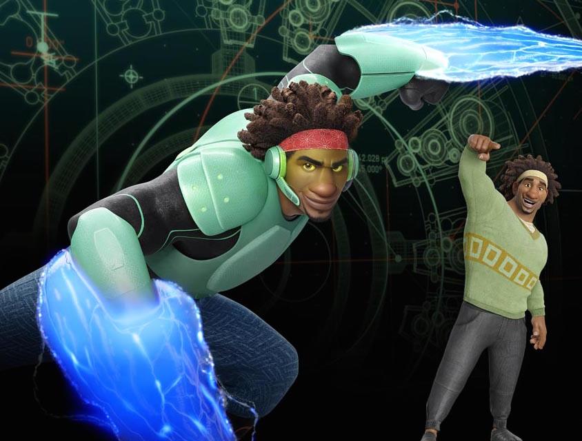 Wasabi voiced by Damon Wayans Jr.