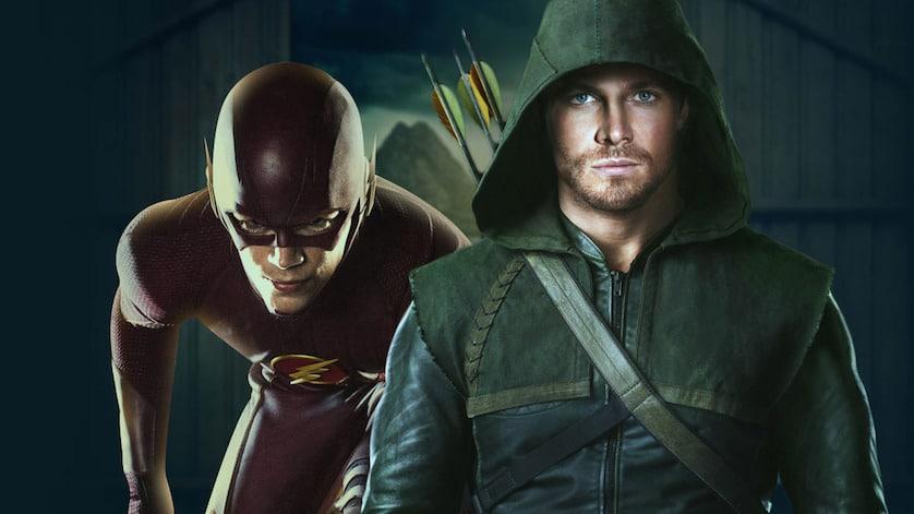 """Will <em>The Flash</em> Run Circles around Amell's """"Arrow""""? Watch Teaser for <em>Flash Vs Arrow</em>"""