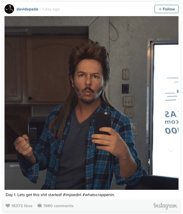 david Spade - Joe Dirt 2 - www.filmfad.com