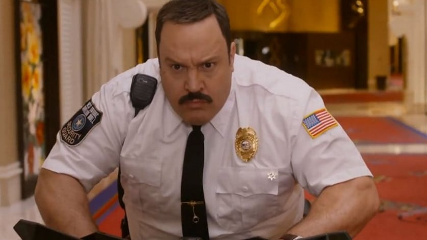 Paul Blart gets Vegas ...