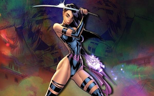 Psylocke's risque costume
