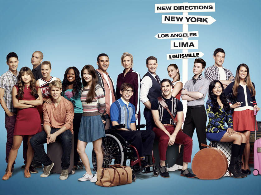 <em>Glee</em> final season preview's <em>Frozen's</em> Let It Go