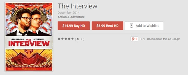 The Interview Rental