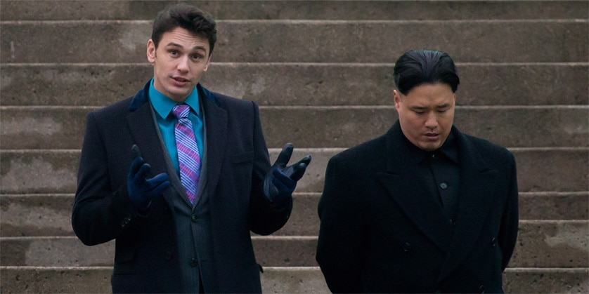 The Interview James Franco Kim Jong Un