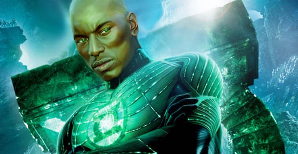 Tyrese Concept Green Lantern