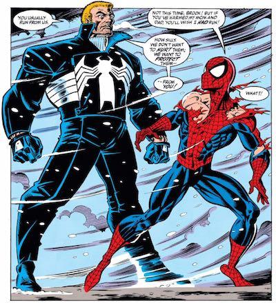 Spider-Man Venom Parker Brock