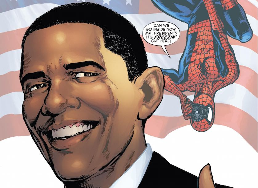 Spiderman Obama