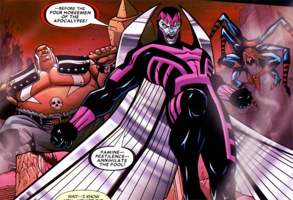 Archangel X-Men Comic