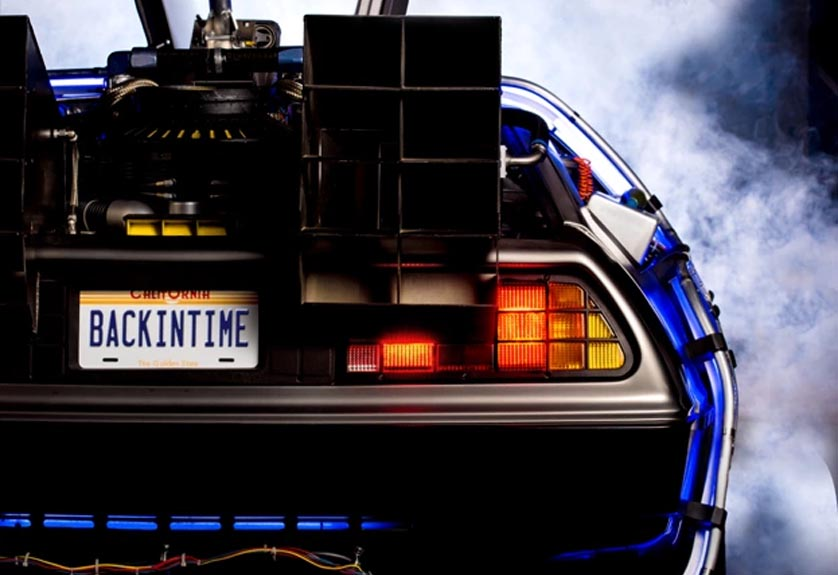 Back to the Future Back in Time