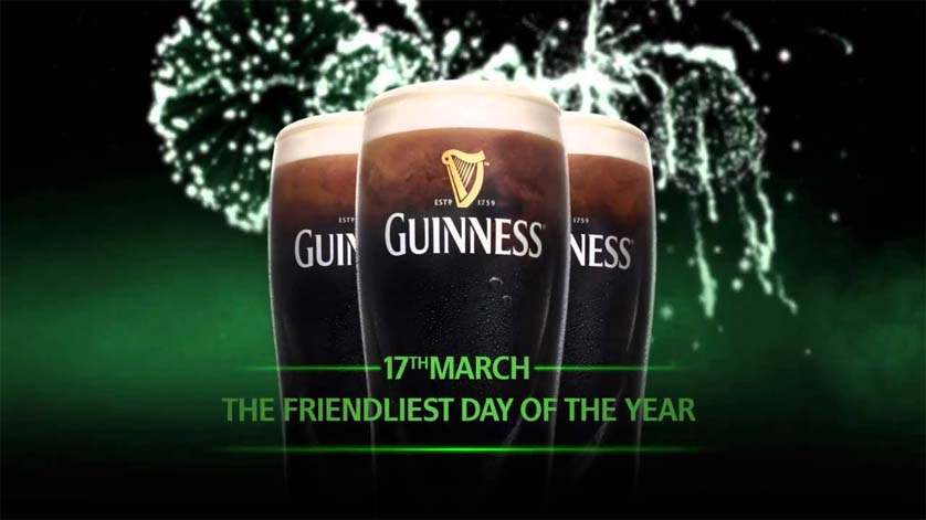St Patricks Day Guiness