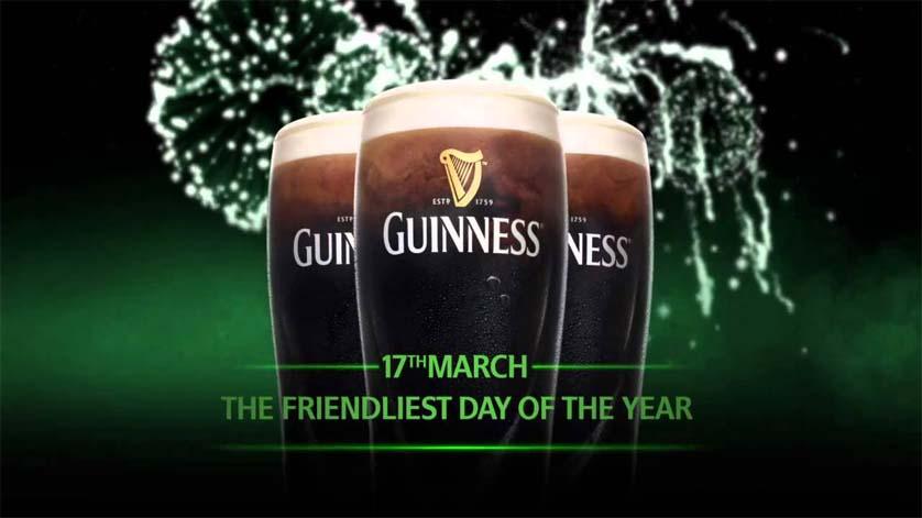 St Patricks Day Guiness