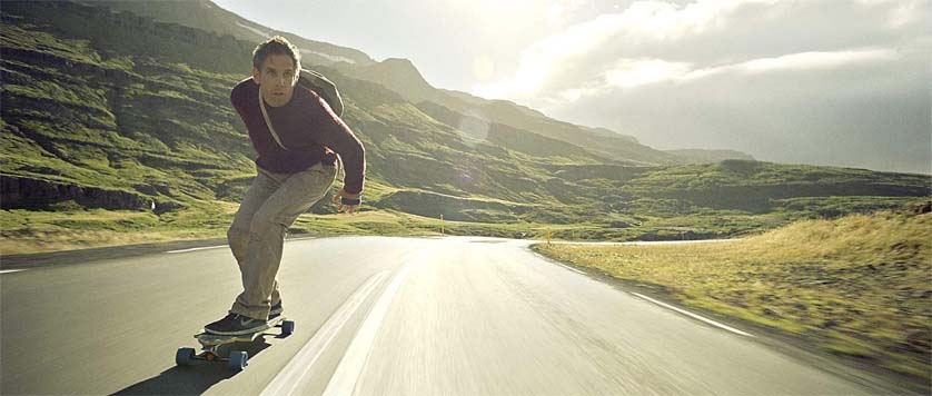 Walter Mitty Skateboarding