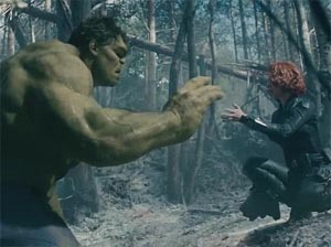 Avengers Age of Ultron Black Widow Hulk