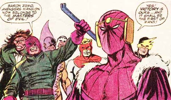 Baron Zemo Comic