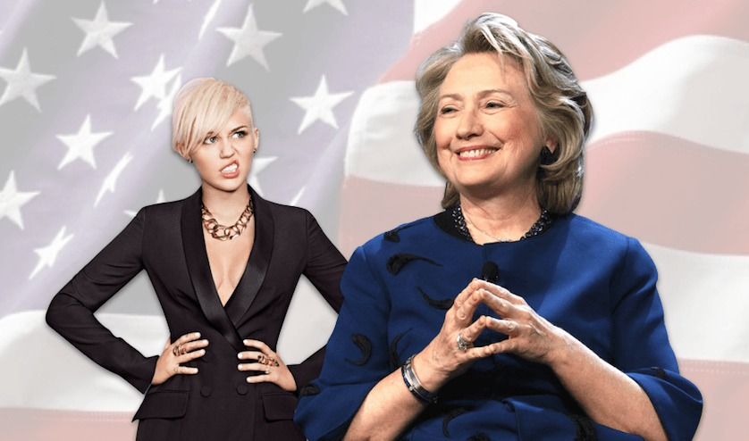 Miley Cyrus Cast As Hillary In Upcoming Clinton Biopic